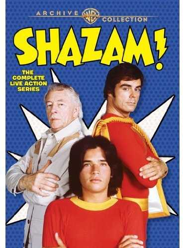 新品北米版DVD!Shazam! The Complete Live-Action Series: Warner Archive Collection!【キャプテン・マーベル】