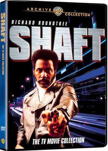 新品北米版DVD!【黒いジャガー TVシリーズ7作】 Shaft: The TV Movie Collection!