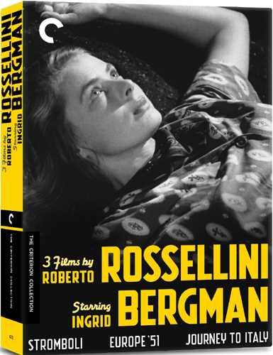 新品北米版DVD!【イングリッド・バーグマン3作品セット】『ストロンボリ 神の土地』『ヨーロッパ一九五一年』『イタリア旅行』 3 Films By Roberto Rossellini Starring Ingrid Bergman (Criterion Collection) !