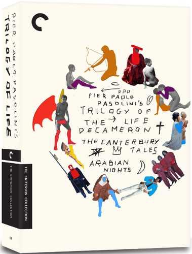 新品北米版DVD!【<ピエル・パオロ・パゾリーニ 生の三部作>『デカメロン』『カンタベリー物語』『アラビアンナイト』】 Trilogy of Life: The Criterion Collection!