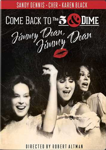 新品北米版DVD!【わが心のジミー・ディーン】Come Back to the 5 & Dime Jimmy Dean Jimmy Dean ! <ロバート・アルトマン監督>