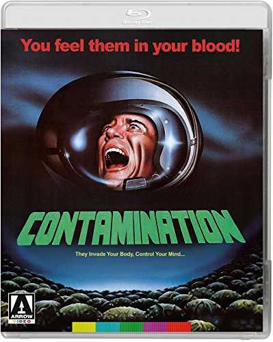 新品北米版Blu-ray!【エイリアンドローム】 Contamination [Blu-ray/DVD]!<ルイス・コーテス監督作>