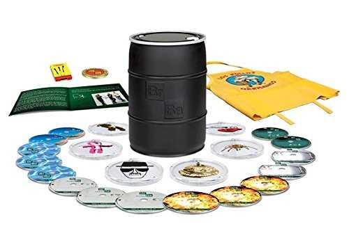 新品北米版Blu-ray!【ブレイキング・バッド:コンプリート・シリーズ(シーズン1,2,3,4,5,Final) 限定盤 】 Breaking Bad: The Complete Series Limited Edition [Blu-ray]!