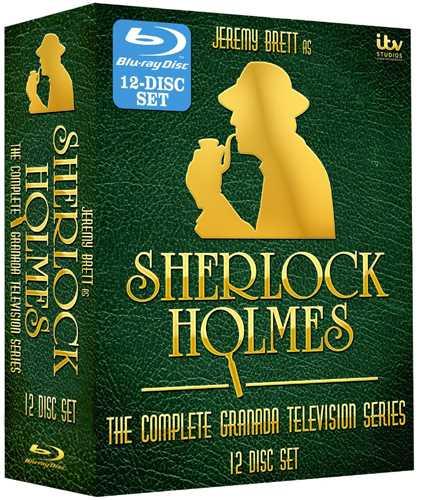 新品北米版Blu-ray!【シャーロック・ホームズの冒険:コンプリート・シリーズ】Sherlock Holmes: The Complete Series [Blu-ray]!