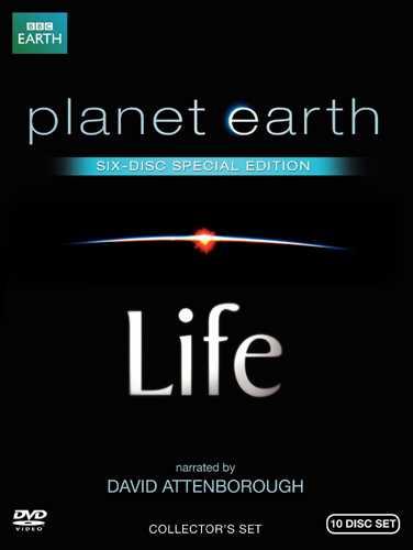 新品北米版DVD!【Life 生命という奇跡 / プラネットアース スペシャル・エディション(10枚組)】 Life / Planet Earth: Special Edition!