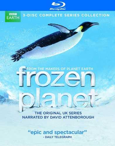 新品北米版Blu-ray!【フローズン プラネット コンプリート・シリーズ(3枚組)】 Frozen Planet: The Complete Series [Blu-ray]!
