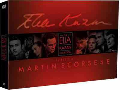 新品北米版DVD!Elia Kazan Collection [18 Discs]