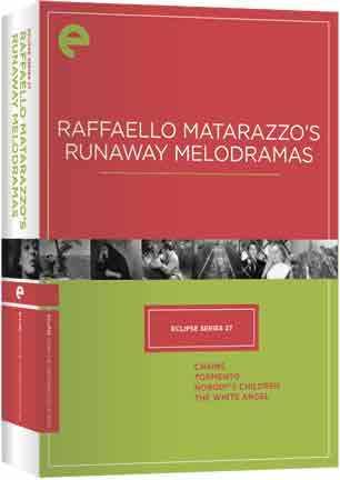 新品北米版DVD!【ラッファエッロ・マタラッツォ 4作品セット】 Eclipse Series 27: Raffaello Matarazzo's Runaway Melodramas