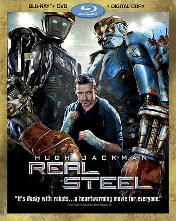 新品北米版Blu-ray!【リアル・スティール】 Real Steel (Three-Disc Combo: Blu-ray/DVD + Digital Copy) !
