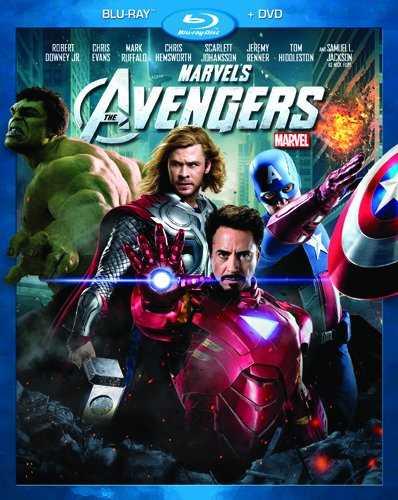 新品北米版Blu-ray!【アベンジャーズ】 Marvel's The Avengers (Two-Disc Blu-ray/DVD Combo in Blu-ray Packaging)!