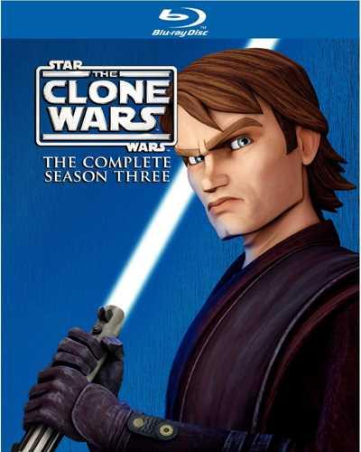 新品北米版Blu-ray!【スター・ウォーズ/クローン・ウォーズ:シーズン3】 Star Wars: The Clone Wars - The Complete Season Three [Blu-ray]!