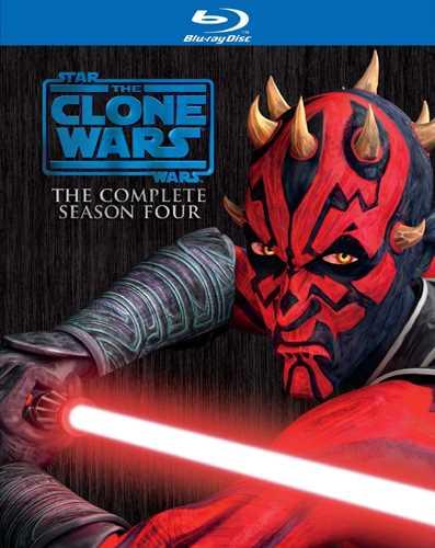 新品北米版Blu-ray!【スター・ウォーズ/クローン・ウォーズ:シーズン4】 Star Wars: The Clone Wars - The Complete Season Four [Blu-ray]!
