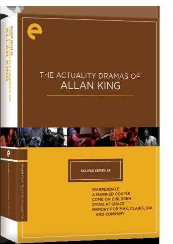 新品北米版DVD!【アラン・キング 5作品セット】 Eclipse Series 24: The Actuality Dramas of Allan King