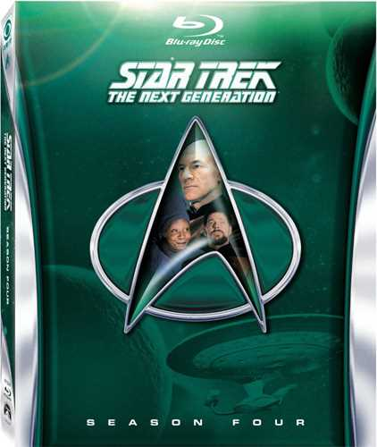 新品北米版Blu-ray!【新スター・トレック シーズン4】 Star Trek: The Next Generation - Season Four [Blu-ray]!