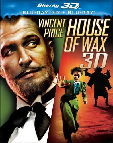新品北米版Blu-ray 3D!【肉の蝋人形 3D】 House of Wax [Blu-ray 3D/Blu-ray]!<日本語字幕付き>