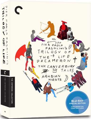 新品北米版Blu-ray!【<ピエル・パオロ・パゾリーニ 生の三部作>『デカメロン』『カンタベリー物語』『アラビアンナイト』】 Trilogy of Life: The Criterion Collection [Blu-ray]!