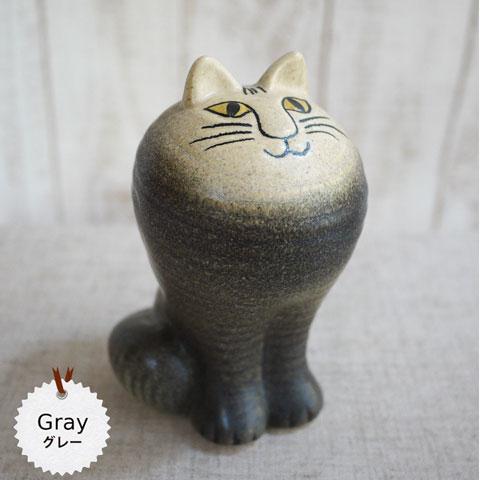 リサラーソン(Lisa Larson) CAT MAYA (Grey)キャット マヤ グレー リサラーソン 猫グッズ 猫雑貨 猫 ねこ 置物  【569524】