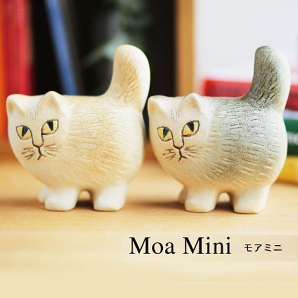 リサラーソン Lisa Larson 猫の置物 モアミニ 猫グッズ 猫雑貨 猫 ねこ 置物