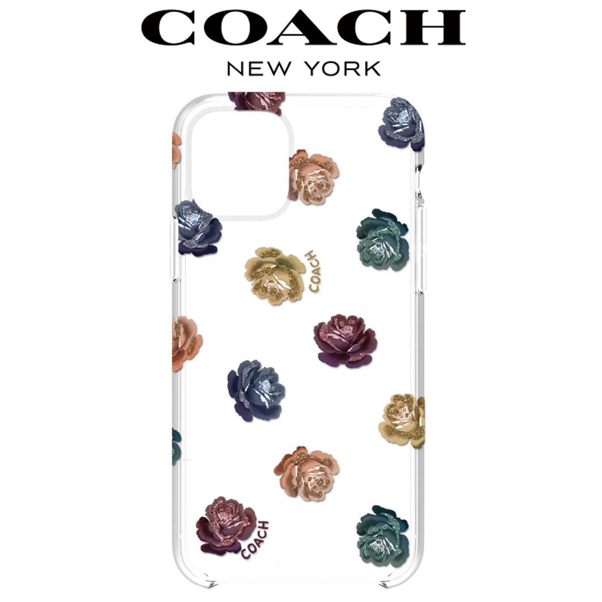 コーチ iphone11 ケース Pro クリア おしゃれ かわいい ブランド スマホケース アイフォンケース iphone11 Coach