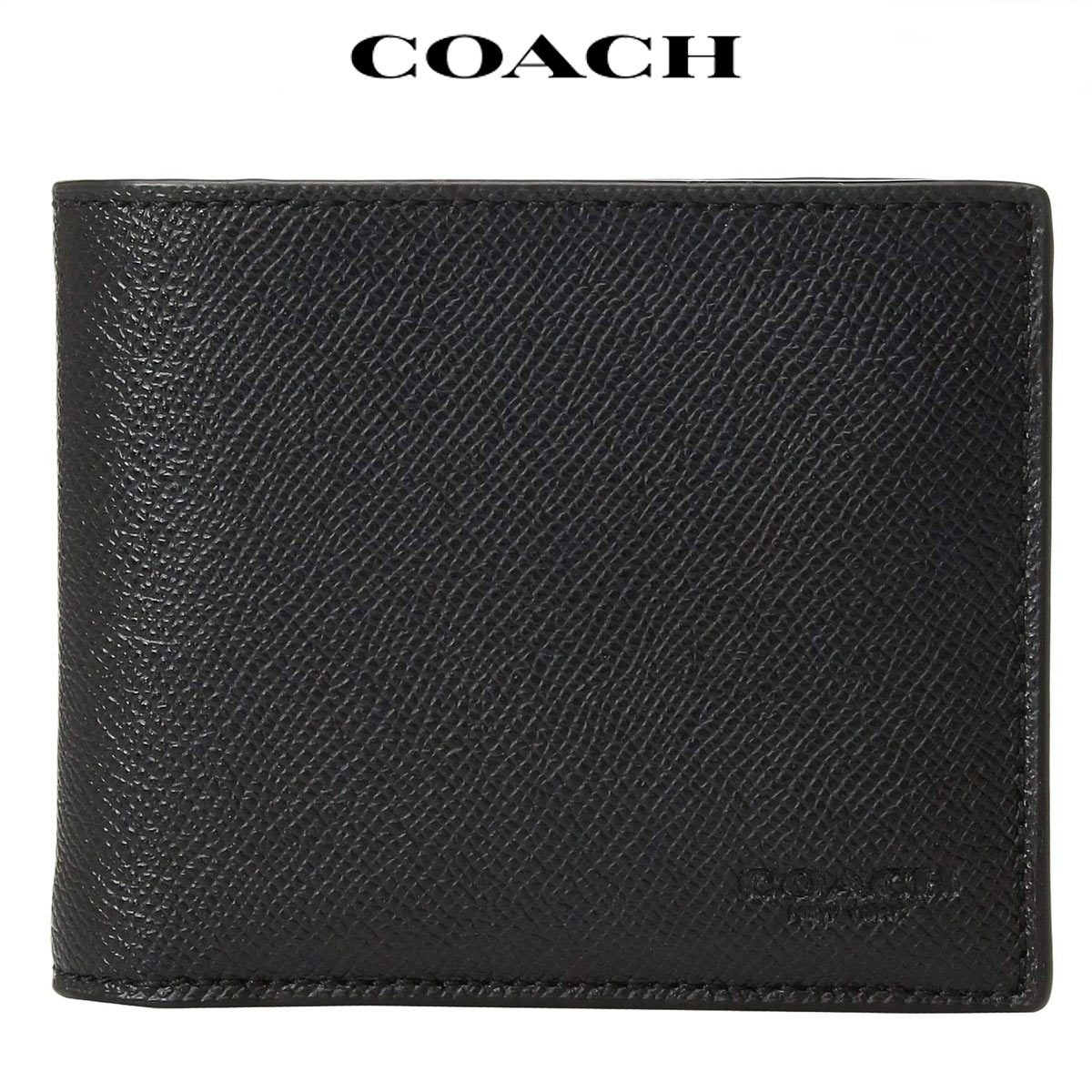 コーチ 財布 メンズ 二つ折り アウトレット idケース カード Coach