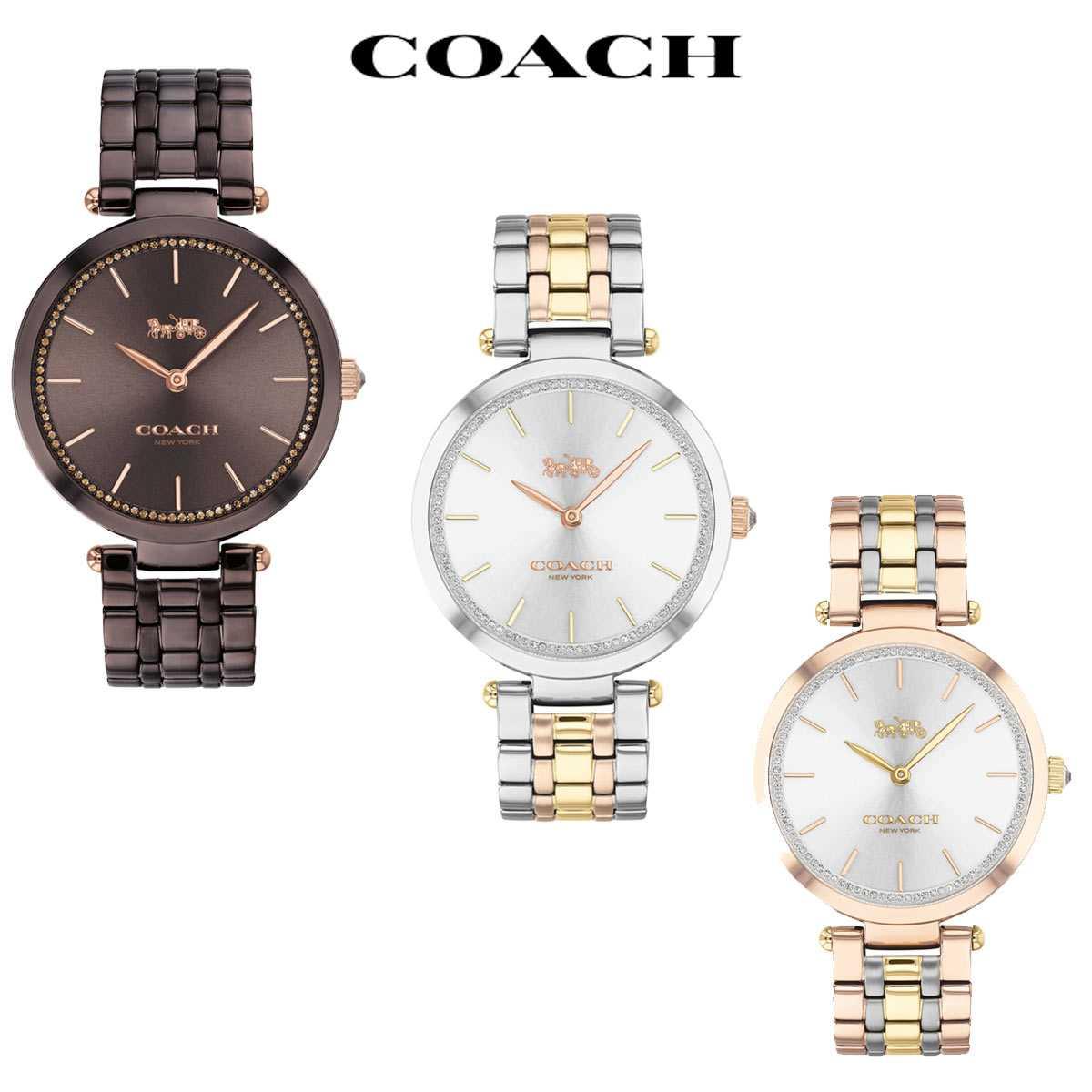 コーチ 腕時計 レディース ブランド 大人気! 時計 売り込み かわいい パーク おしゃれ Park 後払い 女性 COACH