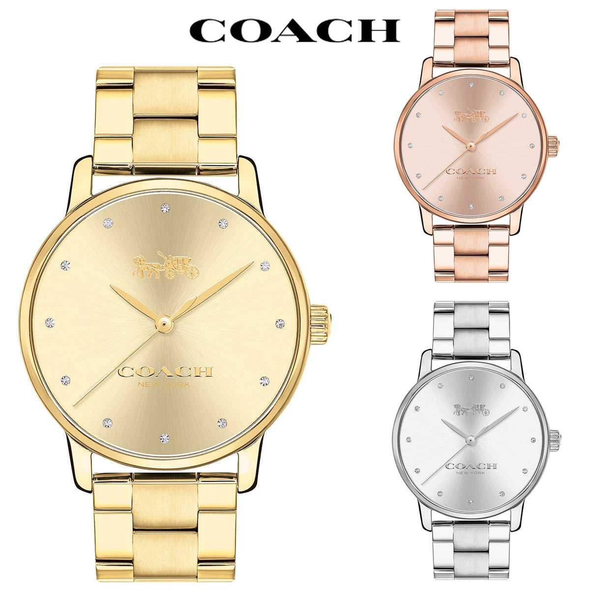 ブリーカー 腕時計 コーチ レディース 女性 グランド 後払い COACH おしゃれ 時計 ブランド かわいい
