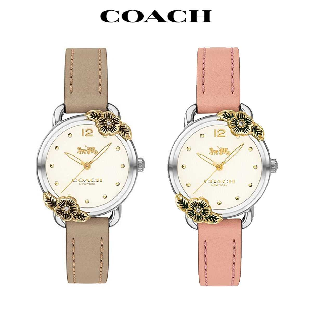 コーチ 腕時計 レディース ブランド 時計 かわいい デランシー おしゃれ 女性 中古 Delancey 後払い COACH 数量限定アウトレット最安価格