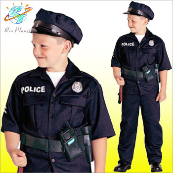 ポリス コスチューム 警官 コスプレ 制服 子供用 ポリス コスチューム 警官 コスプレ 制服 子供用