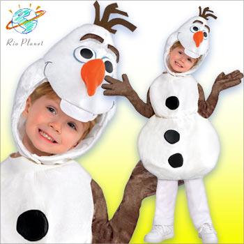 アナと雪の女王 オラフ コスチューム 着ぐるみ コスプレ 衣装 ディズニー キッズ 子供用