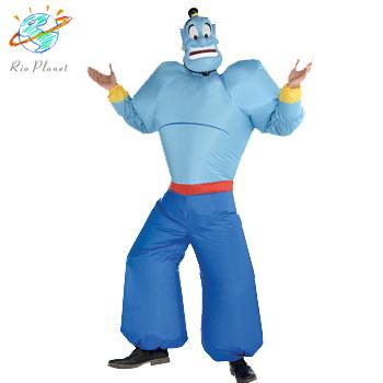 アラジン ジーニー バルーン 大人用 衣装 コスプレ ハロウィン ディズニー 仮装 Aladdin