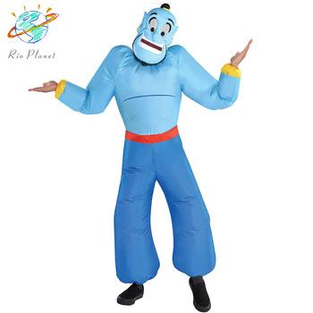 アラジン ジーニー バルーン 衣装 キッズ用 コスプレ ハロウィン ディズニー 仮装 Aladdin