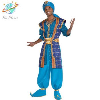 アラジン ジーニー 衣装 大人用 Disney コスプレ ハロウィン ディズニー 仮装 Aladdin アラジン ジーニー 衣装 大人用 Disney コスプレ ハロウィン ディズニー 仮装 Aladdin
