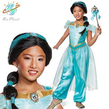 アラジン ジャスミン キッズ 子供用 衣装 コスプレ ハロウィン ディズニー Disney Alladin