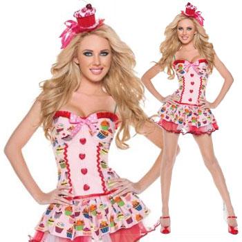 ハロウィン コスチューム カップケーキガール Cupcake Girl Costume