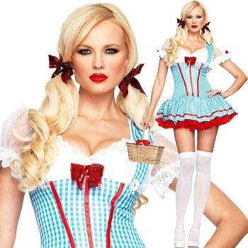 ハロウィン コスチューム オズの魔法使い ドロシー Diva Dorothy Costume - Wizard of Oz
