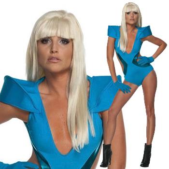 GAGA ハロウィン コスチューム レディー・ガガ Lady Gaga Swimsuit Costume
