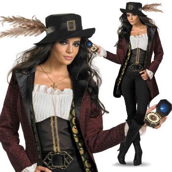 ハロウィン コスチューム パイレーツ オブ カリビアン アンジェリカ Pirates Of The Caribbean - Angelica Prestige