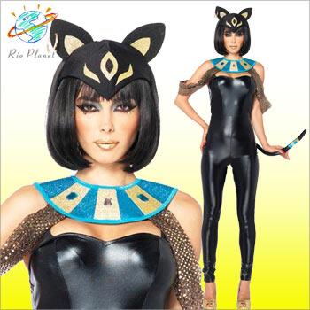 クレオパトラ キャット 猫 コスチューム 衣装 コスプレ クレオパトラ キャット 猫 コスチューム 衣装 コスプレ