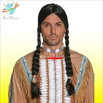 インディアン ウイッグ コスチューム コスプレ 衣装 メンズ