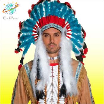 インディアン 羽飾り コスチューム コスプレ 衣装 メンズ