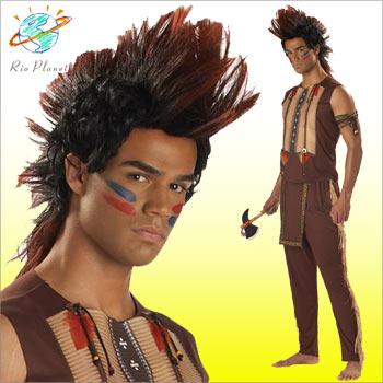 インディアンコスチューム コスプレ 衣装 デラックス メンズ