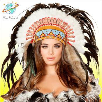 インディアン 羽飾り コスチューム コスプレ 衣装