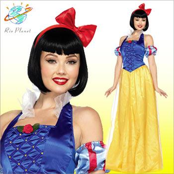 ディズニー コスプレ 仮装 プリンセス 白雪姫 大人用 コスチュームハロウィン 衣装