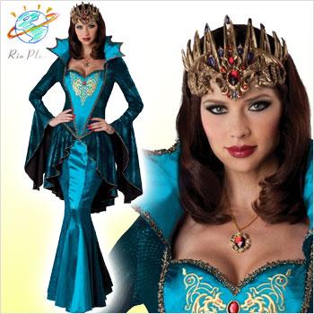 中世 衣装 女王 クイーン 王妃 コスチューム 中世 衣装 女王 クイーン 王妃 コスチューム