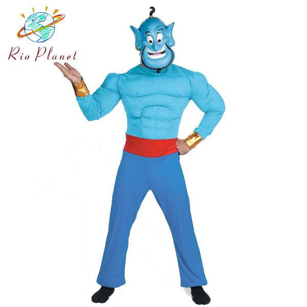 ジーニー コスチューム コスプレ 衣装 大人 男性用 アラジン ランプの魔人 ディズニー 仮装 変装 ジーニー コスチューム コスプレ 衣装 大人 男性用 アラジン ランプの魔人 ディズニー 仮装 変装