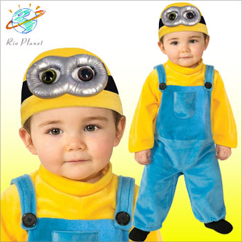 Minionu0027s minion costume Bob Halloween costume baby infant minionu0027s minion costume Bob Halloween costume baby infant for 05P05Dec15  sc 1 st  Rakuten & Rio Planet | Rakuten Global Market: Minionu0027s minion costume Bob ...