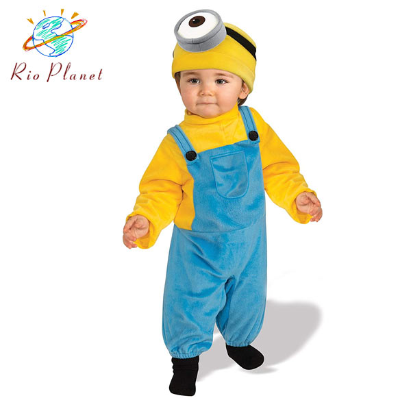 Minions Halloween Costume.Minion S Minion Stewart Halloween Cosplay Baby Toddler Minion S Minion Costume Stuart Halloween Costume Baby Infant Costume