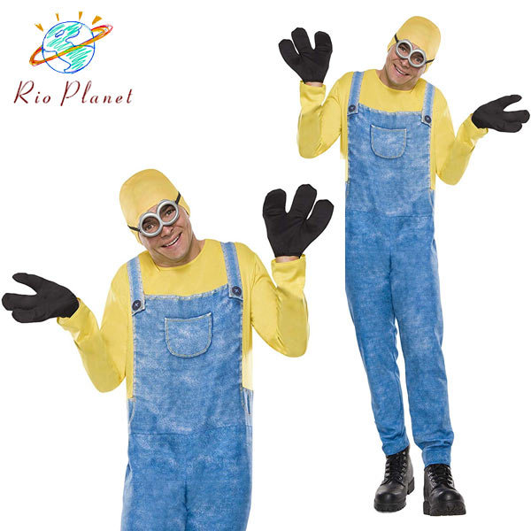 minions minion costume bob halloween costume mens adult minions minion bob halloween costume mens adult costume