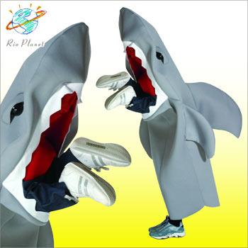 人を食べるサメ コスチューム コスプレ 仮装 変装 衣装 ハロウィン お笑い ウケる