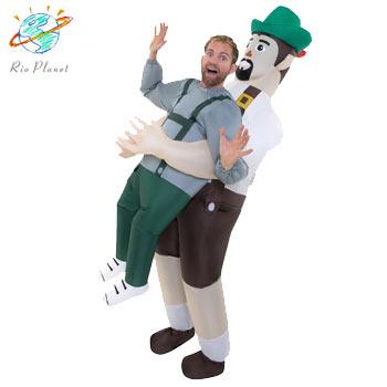 おもしろ 膨らむ 仮装 コスプレ コスチューム お笑い 爆笑 衣装 PICK ME UP INFLATABLE BAVARIAN COSTUME